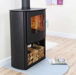 Mendip Churchill 10 Convection Logstore Multifuel / Woodburning Stove