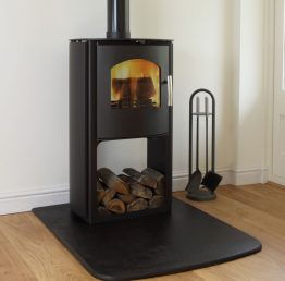 Mendip Churchill 6 SE Logstore Multifuel / Woodburning Stove