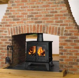 Consort 9 double sided stove