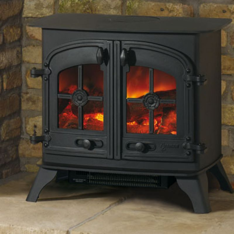 yeoman dartmoor electric stove leeds stove centre. Black Bedroom Furniture Sets. Home Design Ideas