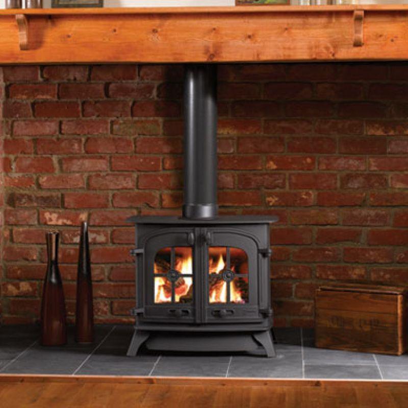 Yeoman Dartmoor Balanced Flue Gas Stove Leeds Stove Centre