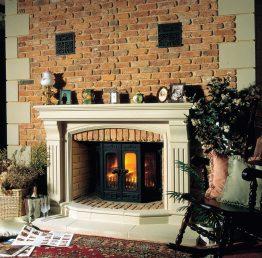 Dovre 2700 Multifuel / Wood Burning Fireplace