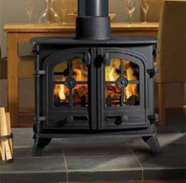 Yeoman Exe Double Sided Woodburning / Multifuel Stove