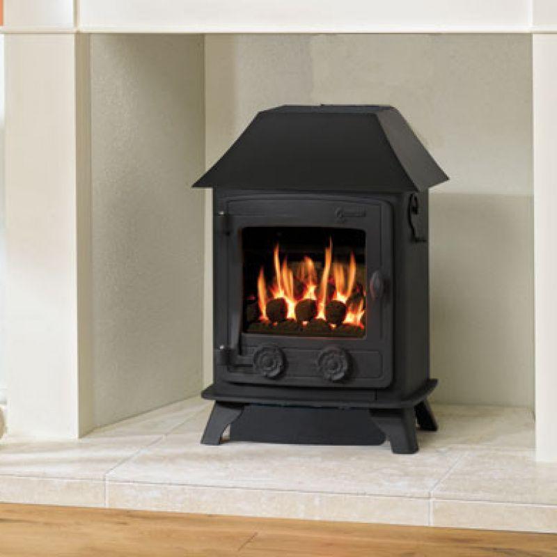 Yeoman Exmoor Balanced Flue Gas Stove Leeds Stove Centre