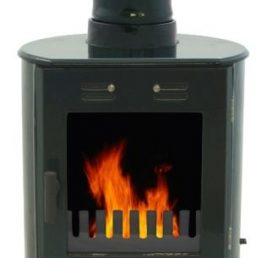 Carron Dante Green Enamel Wood Burning / Multifuel Stove