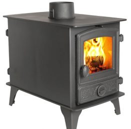 Hunter Hawk 4 Double Sided Multi-Fuel Stove