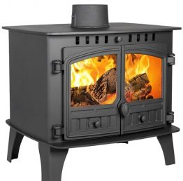 Hunter Herald 14 Double Sided Multi-Fuel Stove