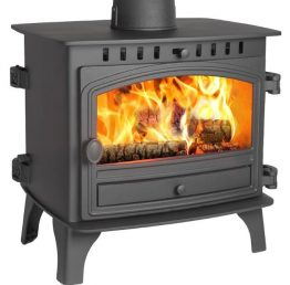 Hunter Herald 8 Double Sided Multi-Fuel Stove