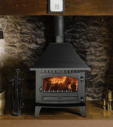 Hunter Herald 14 Multi Fuel Central Heating Boiler Stove Multi Fuel Stoves Leeds Wood Burning