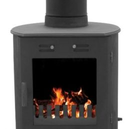 Carron Dante Matt Black Wood-Burning / Multifuel Stove