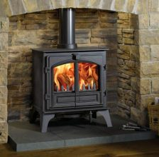 Riva Plus large Woodburning