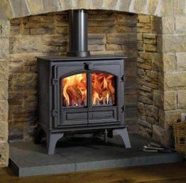 Riva Plus large Woodburning