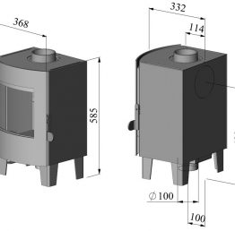 Morso S11-42 Multi-Fuel Stove