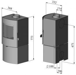 Morso S11-43 Multi-Fuel Stove