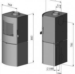 Morso S11-90 Multi-Fuel Stove
