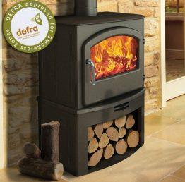 Broseley Serrano 7 SE Log Store Multifuel / Wood Burning Stove