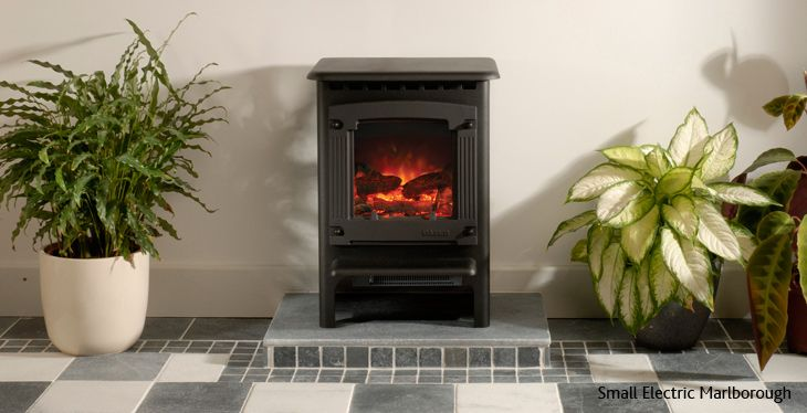 Gazco Small Marlborough Electric Stove Leeds Stove Centre