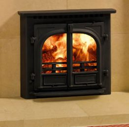 Stovax Stockton 8 Inset Convector Multifuel Wood Burning Stove