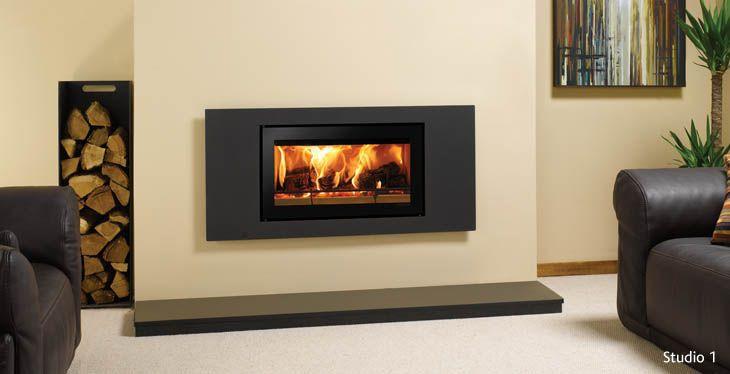 Stovax Riva Studio Steel Wood Burning Cassette Fire
