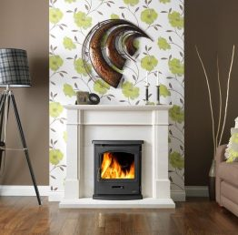 Gallery Collection Tiger Inset Multi-Fuel / Wood Burning Stove
