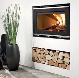 Westfire Uniq 32 SE Wide Woodburning Inset Stove