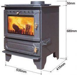 Dunsley Yorkshire Multifuel Boiler Stove