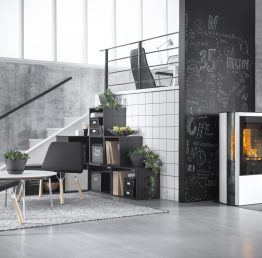 Contura 35 Low Woodburning Stove