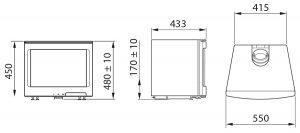 Contura i5 Freestanding